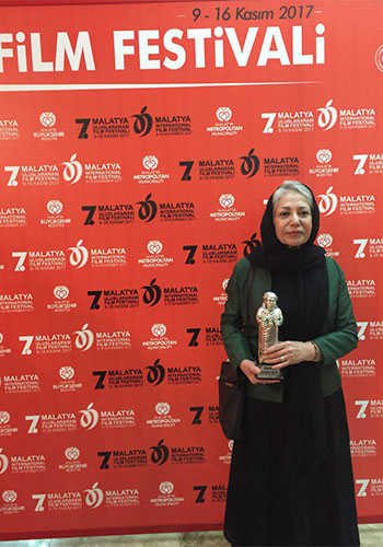 The Honorary Award of Malatya Film Festival Goes to Rakhshan Banietemad