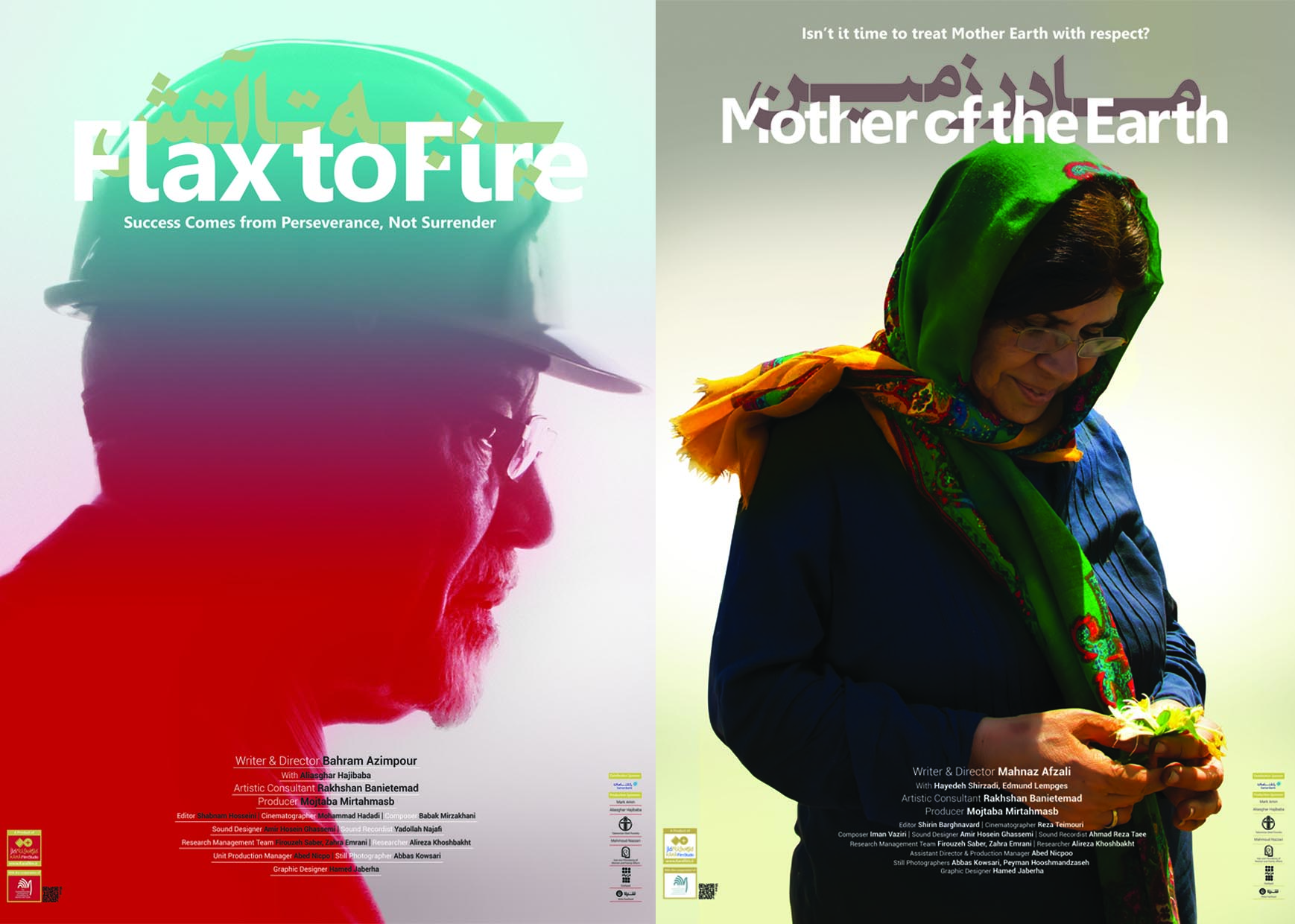 "Two Documentaries ""Mother of the Earth"" and ""Flax to Fire"" to be Screened"